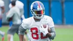 New York Giants wide receiver Rueben Randle (82)