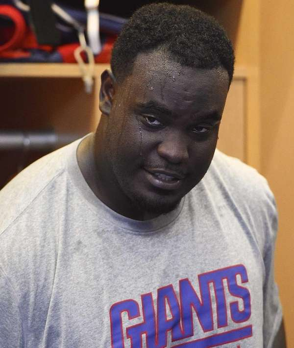 New York Giants defensive tackle Kenrick Ellis speaks
