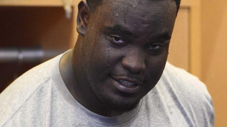 New York Giants defensive tackle Kenrick Ellis speaks