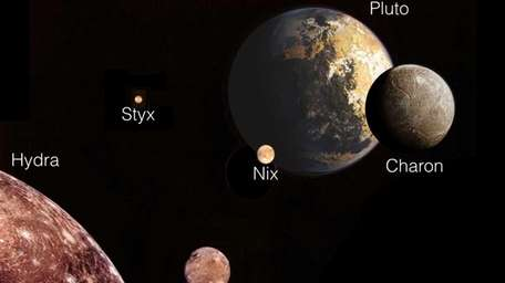 This illustration provided by NASA/JPL/Mark Showalter, SETI Institute