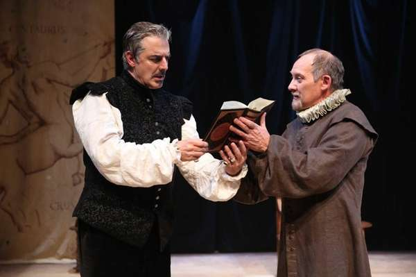Chris Noth, left, in the title role, and