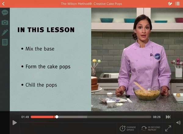 Get a lesson in making cake pops and