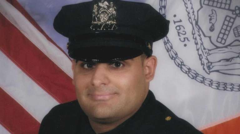 NYPD Officer Fillippo Gugliara, 24, who was involved