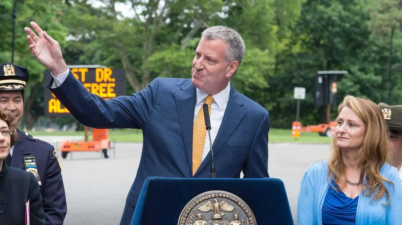 Mayor Bill de Blasio announced Thursday, June 18,