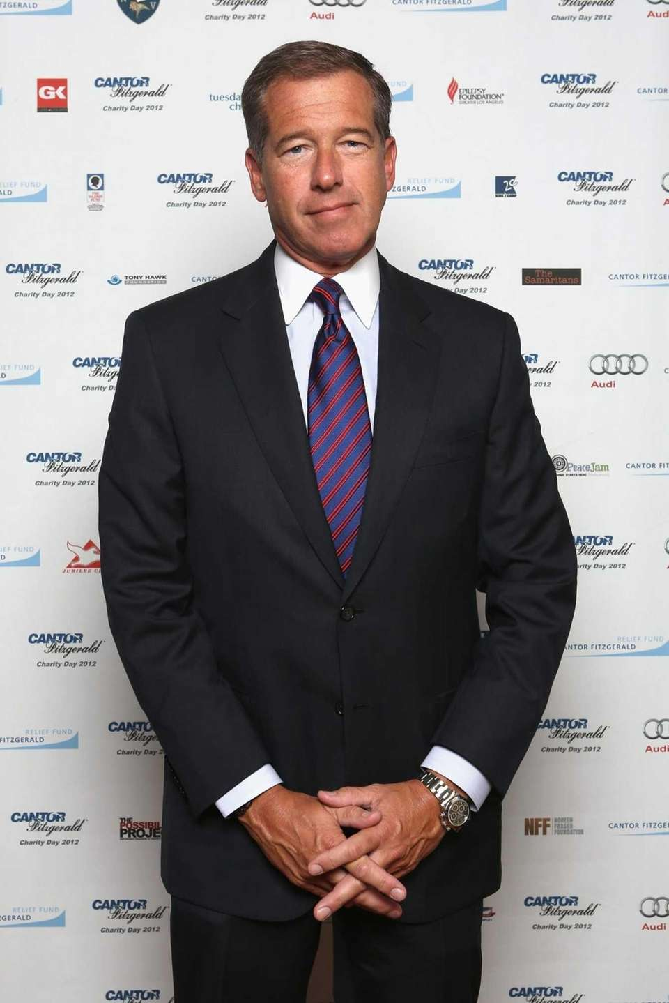 Brian Williams attends Cantor Fitzgerald and BGC Partners'