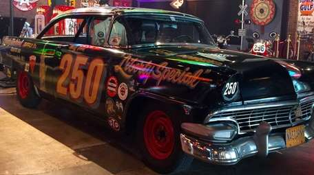 Former driver Marty Himes' 1956 Ford Victoria