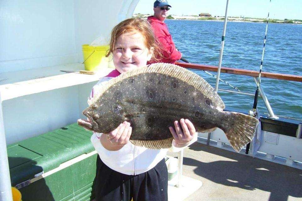 At Captree State Park, there are two fishing