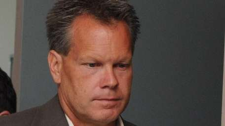 Former Suffolk County police sergeant Scott Greene, of