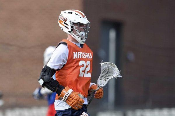 Syosset and Nassau Rising-Stars attacker Mac O'Keefe (22)