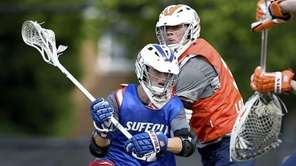Mount Sinai and Suffolk Rising-Stars midfielder Griffin McGrath