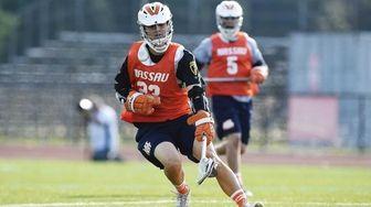 Manhasset and Nassau Rising-Stars attacker Jack Keogh (23)