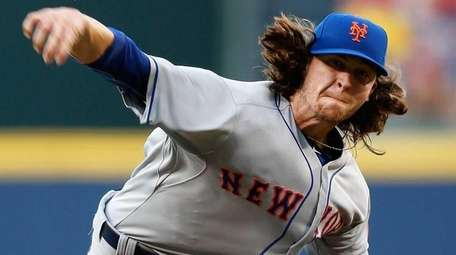 Pitcher Jacob deGrom of the New York Mets