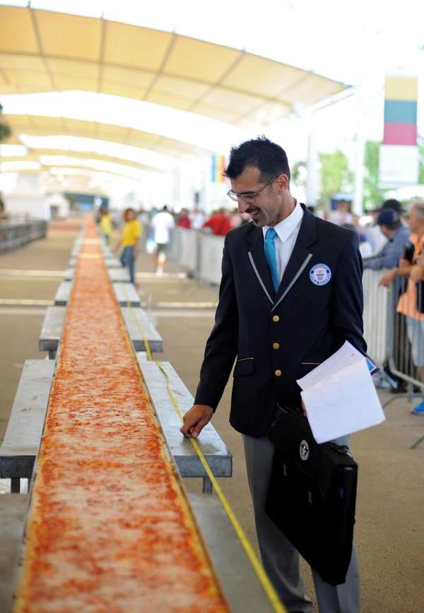 Judge of the Guinness World Records Lorenzo Veltri