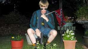 Dylann Roof, who has been charged with the