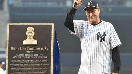 Former New York Yankees pitcher and pitching coach