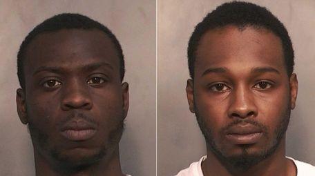 Paul A. Webster, 25, left, and Owen Johnson,