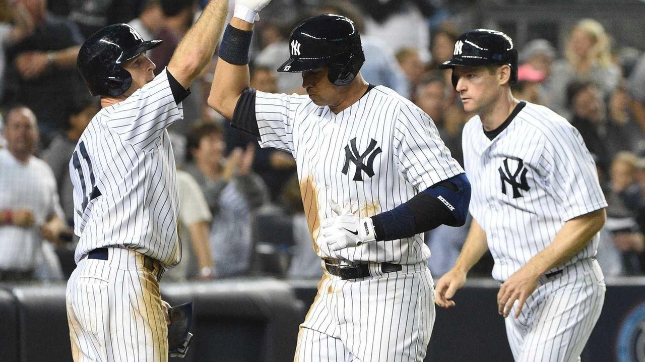 New York Yankees centerfielder Brett Gardner, designated hitter