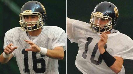 St. Anthony's quarterback Steve Genova and Smithtown East