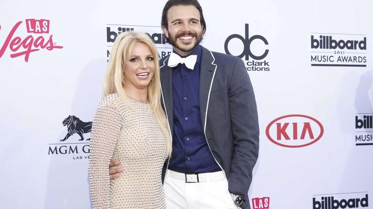 Britney Spears, left, and Charlie Ebersol have reportedly