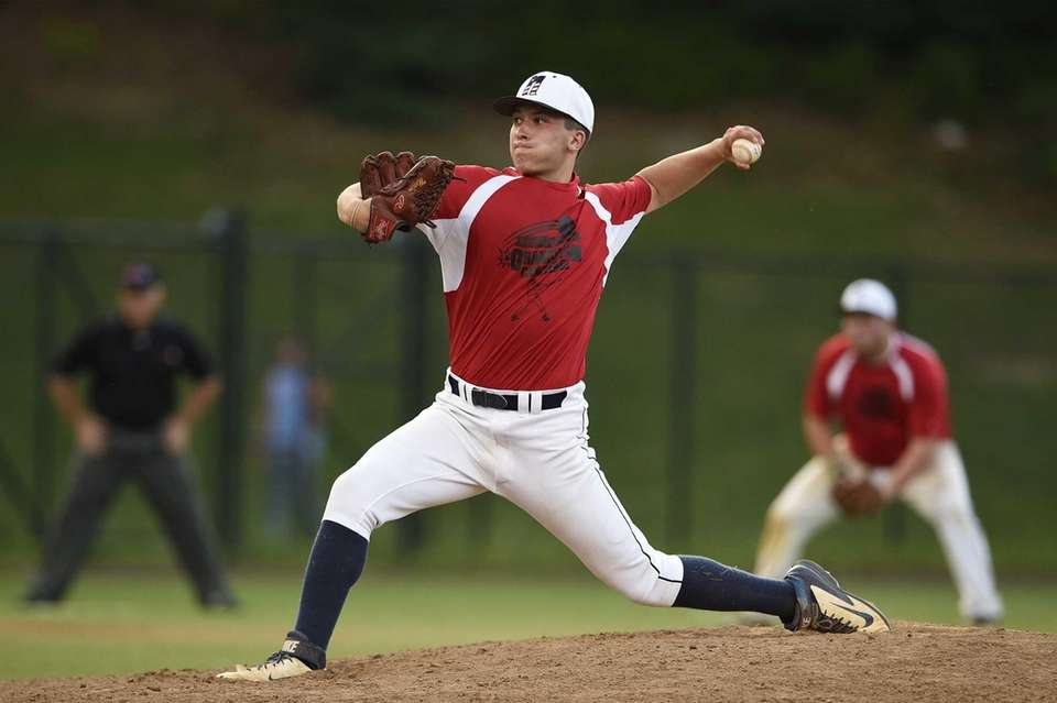 South Side and Nassau All-Stars pitcher Andrew Misiaszek