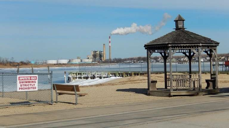 Harbor Isle Beach in Island Park is pictured