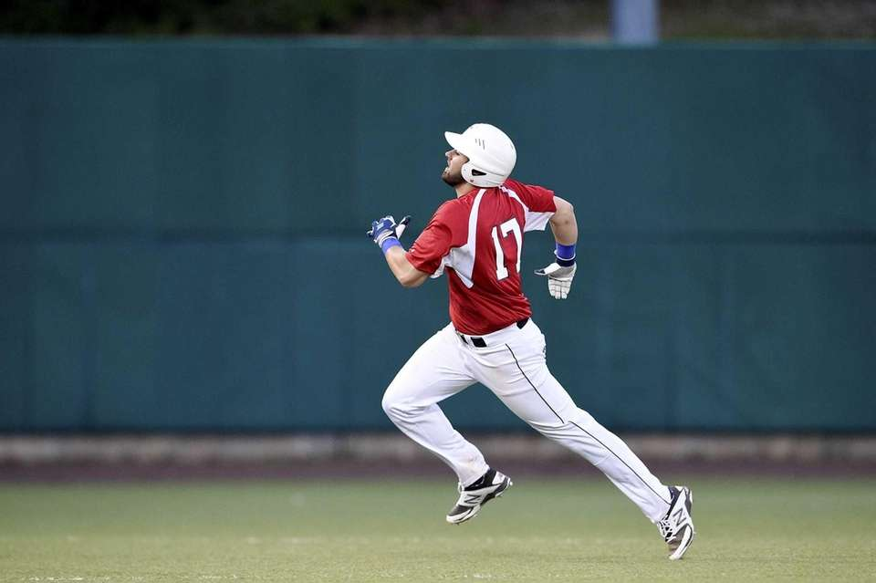 Division and Nassau All-Stars first baseman Anthony Papa