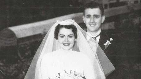 Pat and Jerry Roaslia on their wedding day,