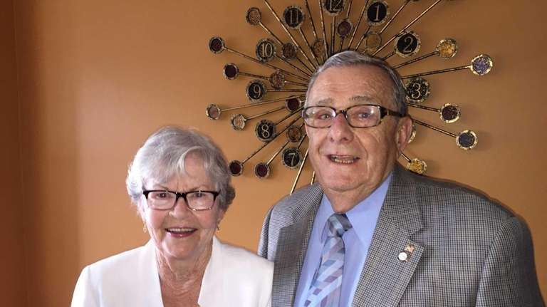 Pat and Jerry Roaslia of Levittown celebrated their