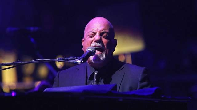 Billy Joel takes the stage at Madison Square
