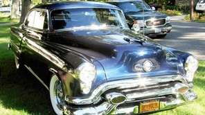 This 1953 Oldsmobile 98 Holiday coupe owned by