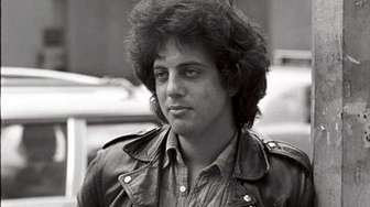 American pianist, singer-songwriter and composer Billy Joel, circa