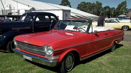 The Chevy II was the American automaker's answer