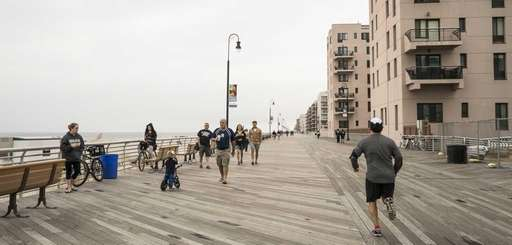 The Long Beach boardwalk was built in 1914,