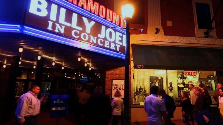 Joel at the Paramount.
