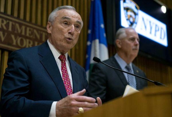 New York City Police Commissioner William J. Bratton