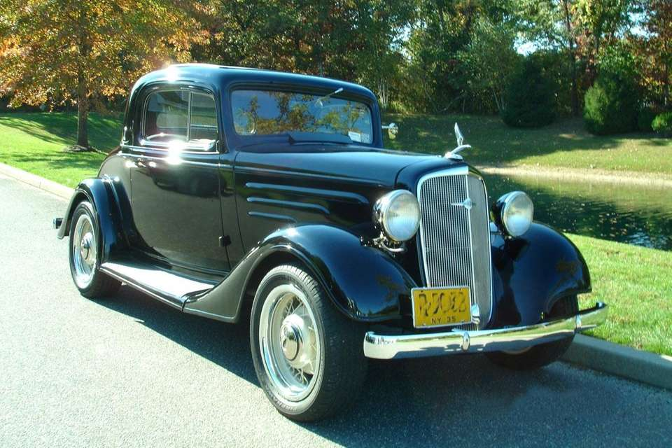 This 1935 Chevrolet Standard coupe owned by Cathy