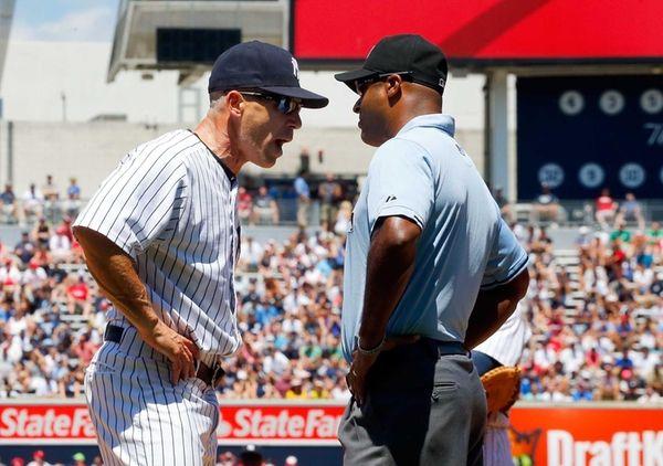 NEW YORK, NY - JUNE 24: Manager Joe