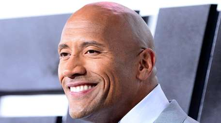 Dwayne 'The Rock' Johnson.