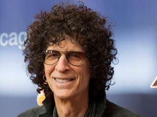 Judge Howard Stern arrives at the