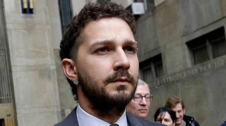 Shia LaBeouf has received stitches to his head
