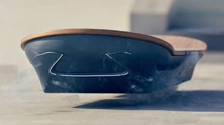 An image of the Lexus Hoverboard from the