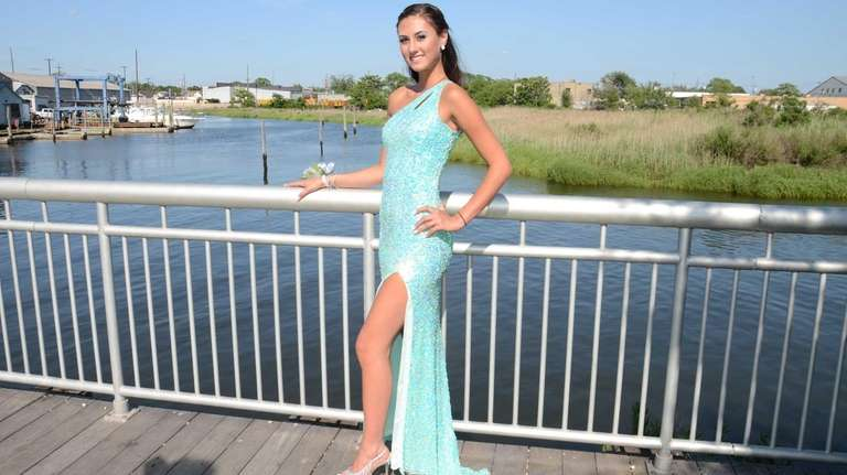 East Rockaway High School senior Sabrina Daraio near