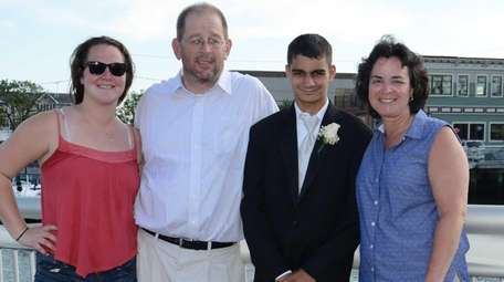 East Rockaway High School junior Arthur McCormack, 16,
