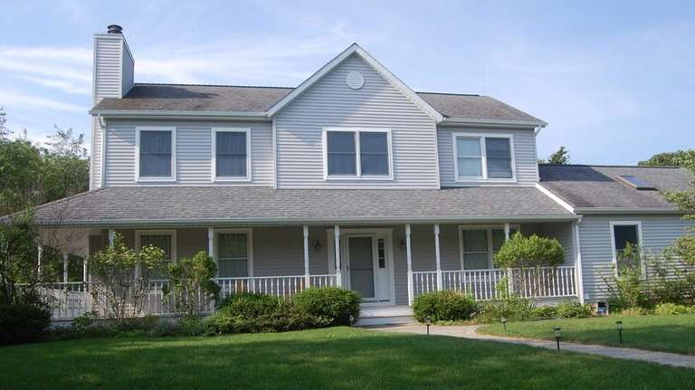 The location of this Greenport home, which recently