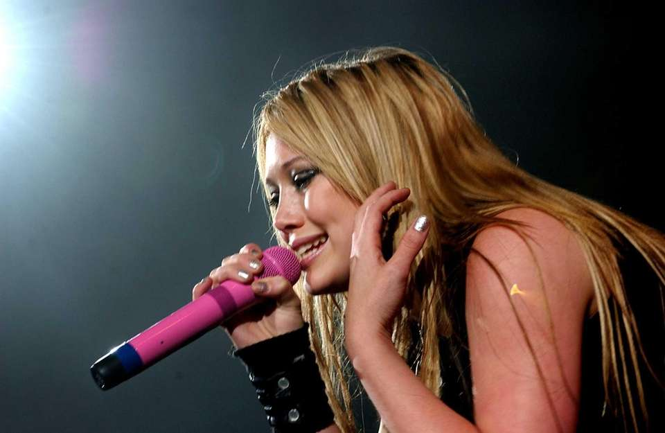 Hilary Duff at the Coliseum on July 26,