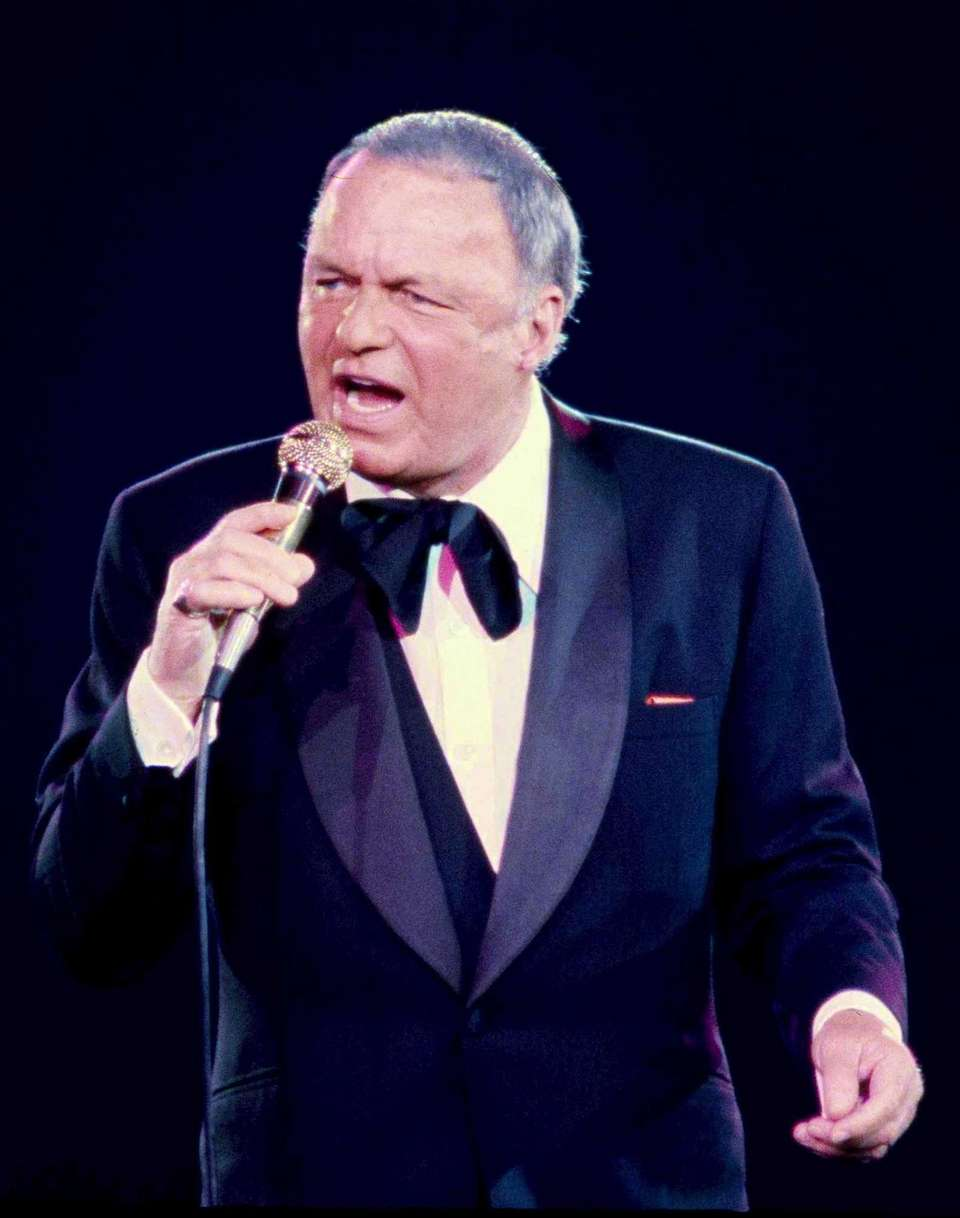 Frank Sinatra in concert at the Coliseum on