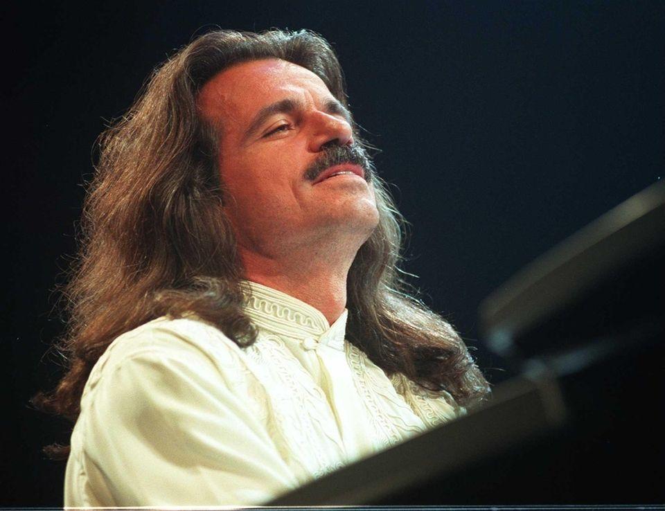 Yanni performs at the Nassau Coliseum on June