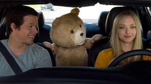 Mark Wahlberg , left, the character Ted, voiced