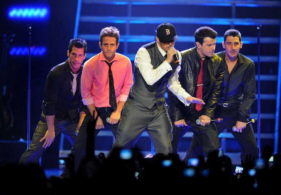 New Kids On The Block performs at the