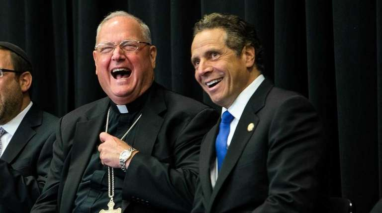 Gov. Andrew M. Cuomo, right, and New York